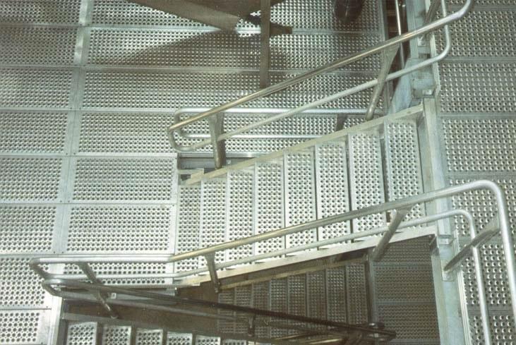 鱼眼孔型防滑梯子板 第4张